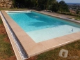 Pool Surround in Ataíja Cream Flamed