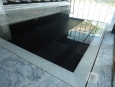 Pool Surround in Amadeus light marble Sanded
