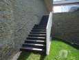 Stairs in Black Slate